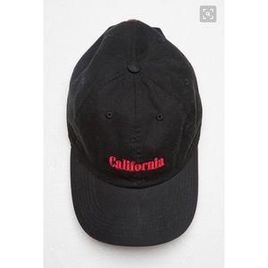 Black CA hat